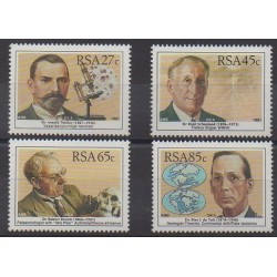 South Africa - 1991 - Nb 742/745 - Science