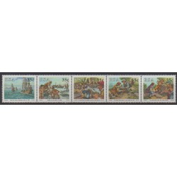 South Africa - 1992 - Nb 751/755 - Various Historics Themes