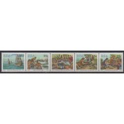 Afrique du Sud - 1992 - No 751/755 - Histoire