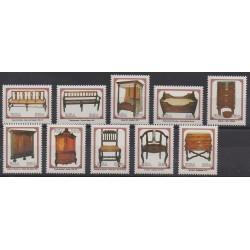 Afrique du Sud - 1992 - No 756/765 - Artisanat ou métiers