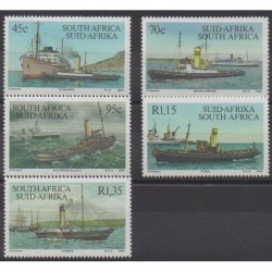 South Africa - 1994 - Nb 839/843 - Boats