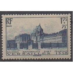 France - Poste - 1938 - Nb 379 - Castles