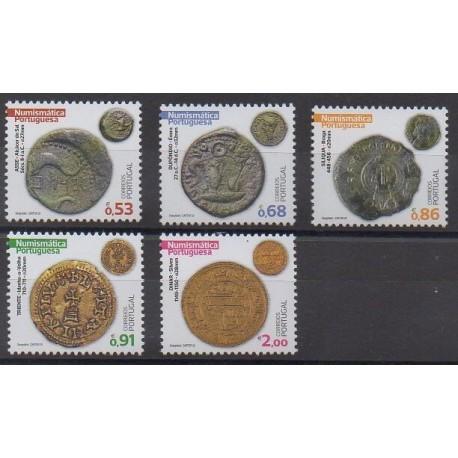 Portugal - 2020 - No 4636/4639 - Monnaies, billets ou médailles
