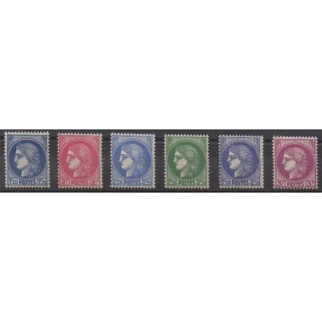 France - Poste - 1938 - No 372/376