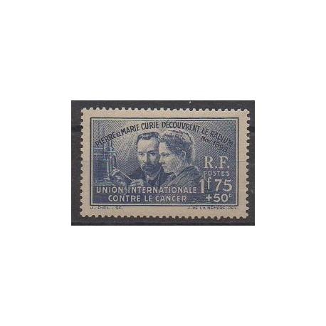 France - Poste - 1938 - No 402 - Sciences et Techniques