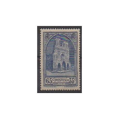 France - Poste - 1938 - No 399 - Églises - Neuf avec charnière