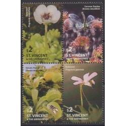 Saint-Vincent - 2005 - No 4851/4854 - Fleurs