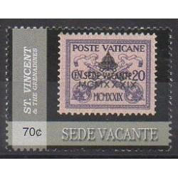 Saint-Vincent - 2005 - No 4874 - Timbres sur timbres