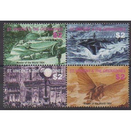 Saint-Vincent - 2005 - No 4875/4878 - Littérature
