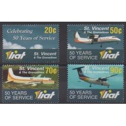 Saint-Vincent - 2006 - No 4944/4947 - Aviation