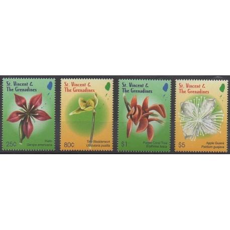 Saint-Vincent - 2010 - No 5401/5404 - Fleurs