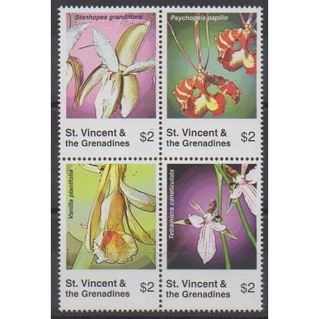 Saint-Vincent - 2007 - No 5019/5022 - Orchidées