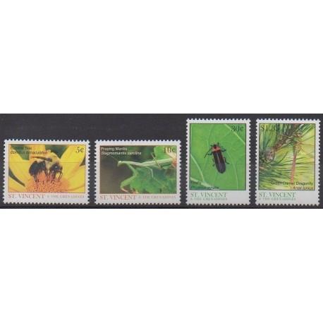 Saint-Vincent - 2007 - No 5061/5064 - Insectes