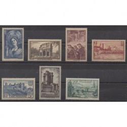 France - Poste - 1938 - No 388/394
