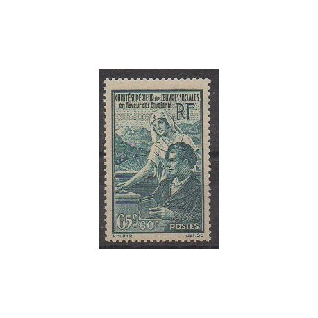 France - Poste - 1938 - No 417