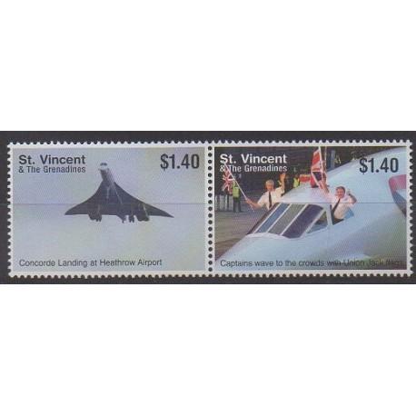 Saint-Vincent - 2006 - No 4994E/4994F - Aviation