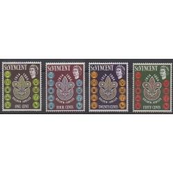 Saint Vincent - 1964 - Nb 188/191 - Scouts