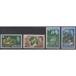 Saint Vincent - 1965 - Nb 201/204 - Fruits or vegetables
