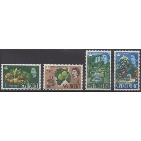 Saint-Vincent - 1965 - No 201/204 - Fruits ou légumes