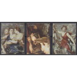Saint-Vincent - 2001 - No 4094/4096 - Peinture
