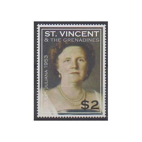 Saint-Vincent - 2004 - No 4794 - Royauté - Principauté