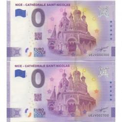 Euro banknote memory - 06 - Nice - Cathédrale Saint-Nicolas - 2021-3 - Nb 300-2300