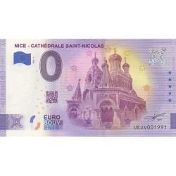 Euro banknote memory - 06 - Nice - Cathédrale Saint-Nicolas - 2021-3 - Nb 1991