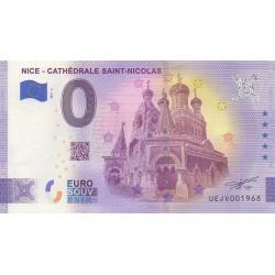 Euro banknote memory - 06 - Nice - Cathédrale Saint-Nicolas - 2021-3 - Nb 1968