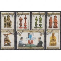 Saint Thomas and Prince - 1981 - Nb 638/645 - Chess - Used