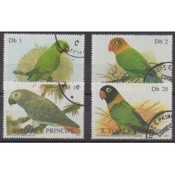 Saint Thomas and Prince - 1987 - Nb 865/868 - Birds - Used