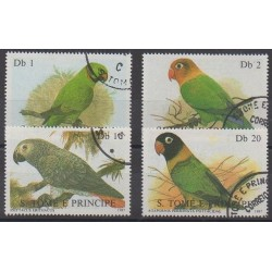 Saint-Thomas et Prince - 1987 - No 865/868 - Oiseaux - Oblitérés
