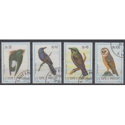 Saint Thomas and Prince - 1983 - Nb 792/795 - Birds - Used