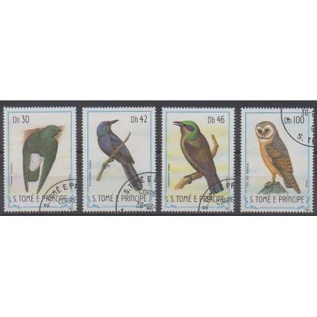 Saint-Thomas et Prince - 1983 - No 792/795 - Oiseaux - Oblitérés