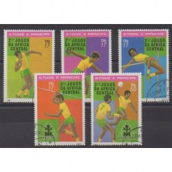 Saint-Thomas et Prince - 1981 - No 659/663 - Sports divers - Oblitérés