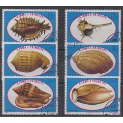 Saint Thomas and Prince - 1981 - Nb 626/631 - Sea life - Used