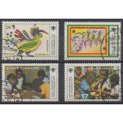 Saint Thomas and Prince - 1979 - Nb 542/545 - Childhood - Used