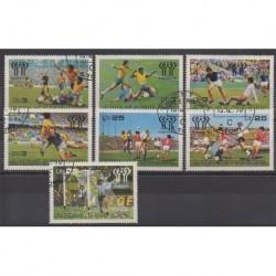 Saint-Thomas et Prince - 1978 - No 506/512 - Coupe du monde football - Oblitérés