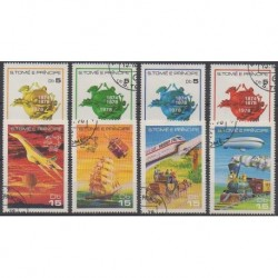 Saint-Thomas et Prince - 1978 - No 498/505 - Transports - Oblitérés