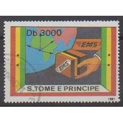 Saint-Thomas et Prince - 1991 - No 1079A - Service postal - Oblitéré