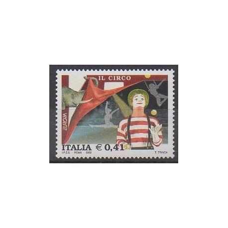 Italie - 2002 - No 2575 - Cirque ou magie - Europa