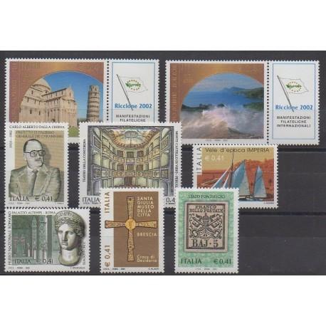 Italie - 2002 - No 2599/2606