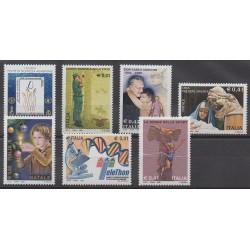 Italy - 2002 - Nb 2610/2616