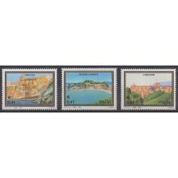Italie - 2003 - No 2635/2637 - Sites