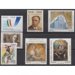 Italy - 2003 - Nb 2653/2659