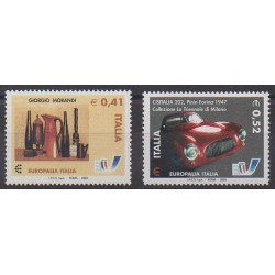 Italie - 2003 - No 2664/2665