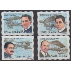 Italy - 2003 - Nb 2660/2663 - Planes