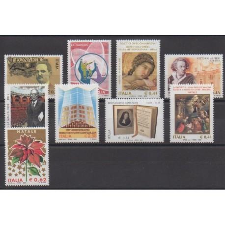 Italie - 2003 - No 2668/2676