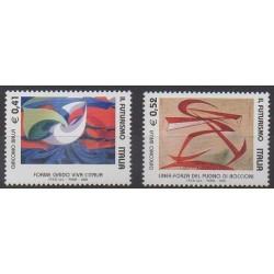 Italie - 2003 - No 2677/2678 - Peinture