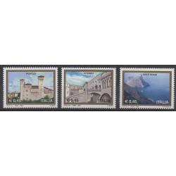 Italie - 2004 - No 2707/2709 - Sites