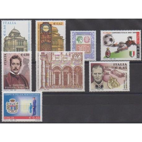 Italie - 2004 - No 2718/2725